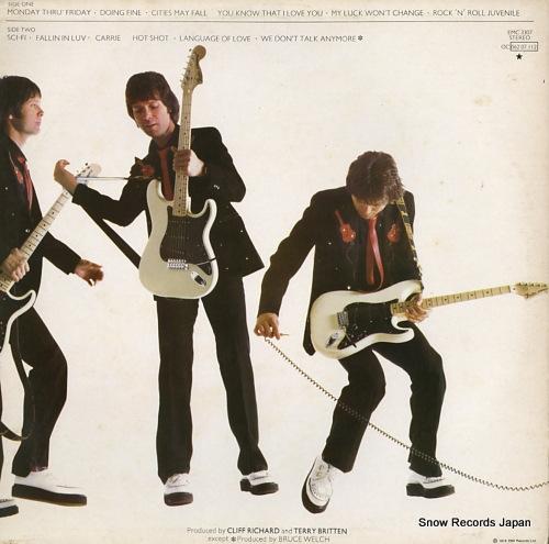 RICHARD, CLIFF rock 'n' roll juvenile EMC3307 - back cover