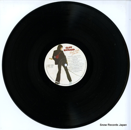 RICHARD, CLIFF rock 'n' roll juvenile EMC3307 - disc