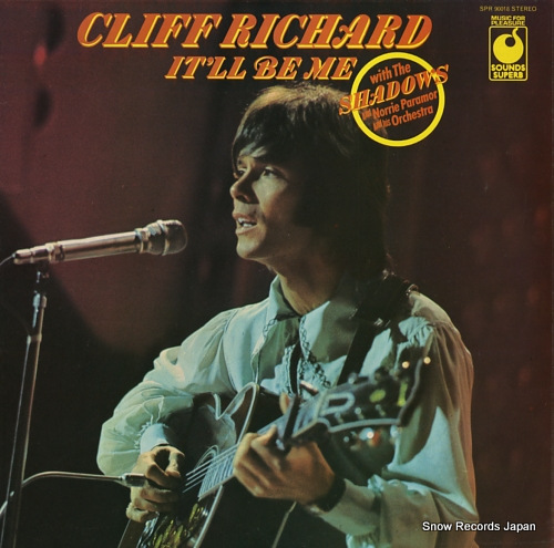 RICHARD, CLIFF it'll be me SPR90018 - front cover