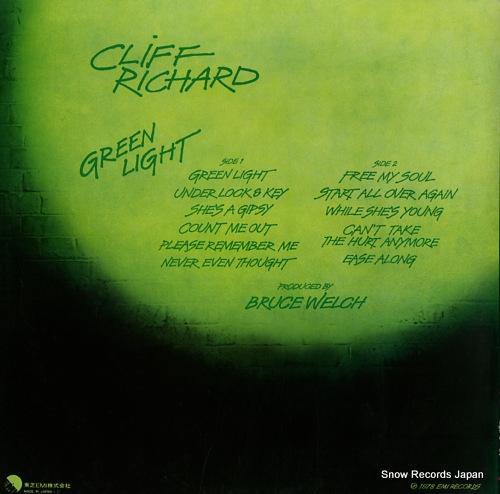 RICHARD, CLIFF green light EMS-81154 - back cover