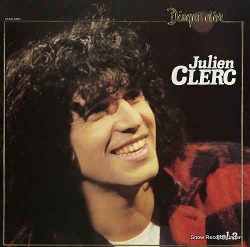 CLERC, JULIEN disque d'or vol.2 2C070-72014 - front cover