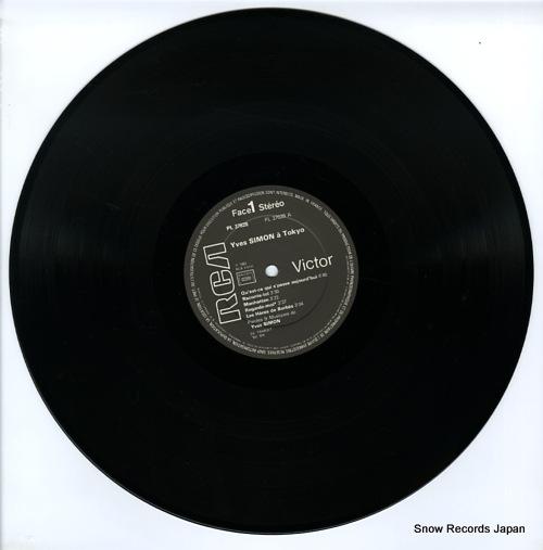 SIMON, YVES yves simon a tokyo PL37628 - disc