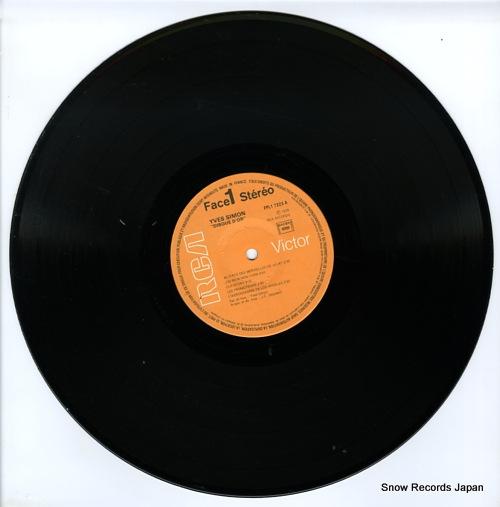 SIMON, YVES disque d'or FPL17223 - disc