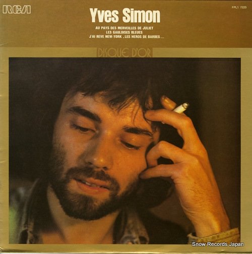 SIMON, YVES disque d'or FPL17223 - front cover