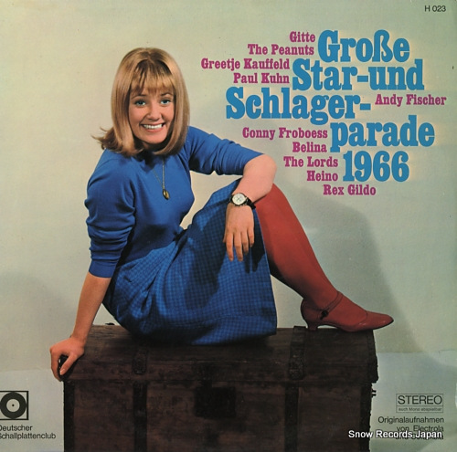V/A grosse star-und schlager parade H023 - front cover