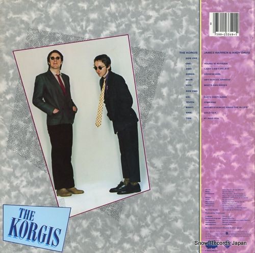 KORGIS, THE the korgis BSK3349 - back cover