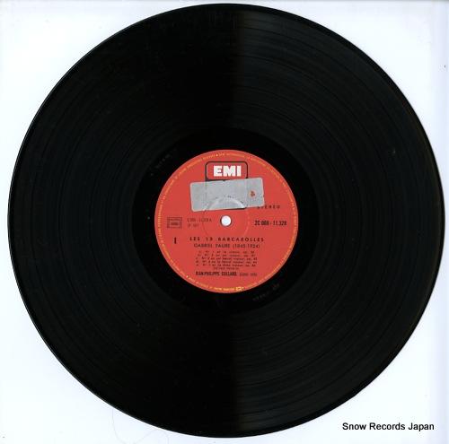 COLLARD, JEAN-PHILIPPE faure; les 13 barcarolles 2C069-11328 - disc