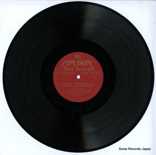 BACKHAUS, WILHELM beethoven; appassionata / waldstein LC76 - disc