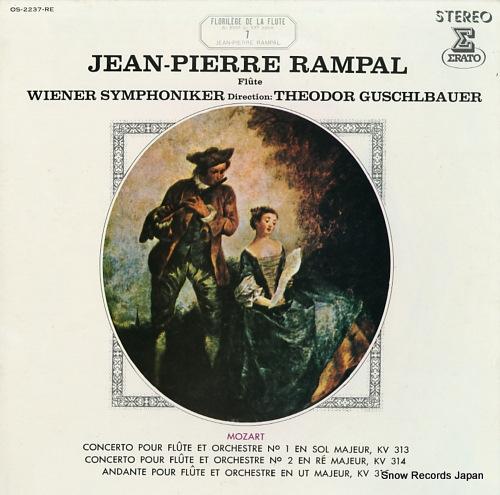 RAMPAL, JEAN-PIERRE mozart; florilege de la flute 7 OS-2237-RE - front cover