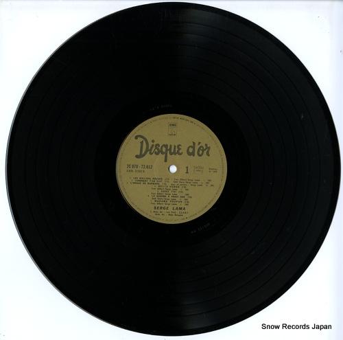 LAMA, SERGE disque d'or 2C070-72012 - disc