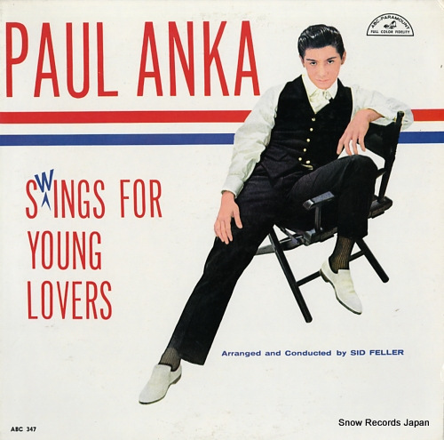 ANKA, PAUL swings for young lovers ABC347 - front cover