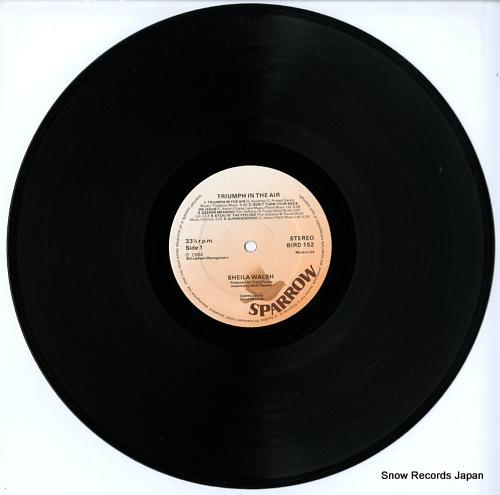 WALSH, SHEILA triumph in the air BIRD152 - disc
