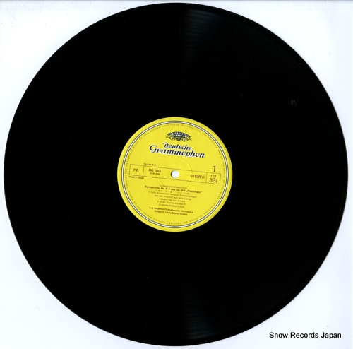 GIULINI, CARLO MARIA beethoven; symphony no.6