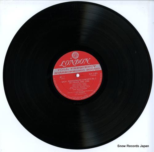 MUNCHINGER, KARL bach; brandenburg concertos nos.1 & 2 SLH1003 - disc