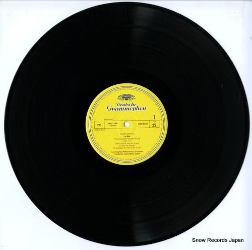 GIULINI, CARLO MARIA debussy; la mer MG1269 - disc