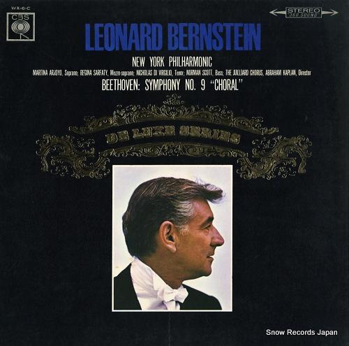 BERNSTEIN, LEONARD beethoven; symphony no.9