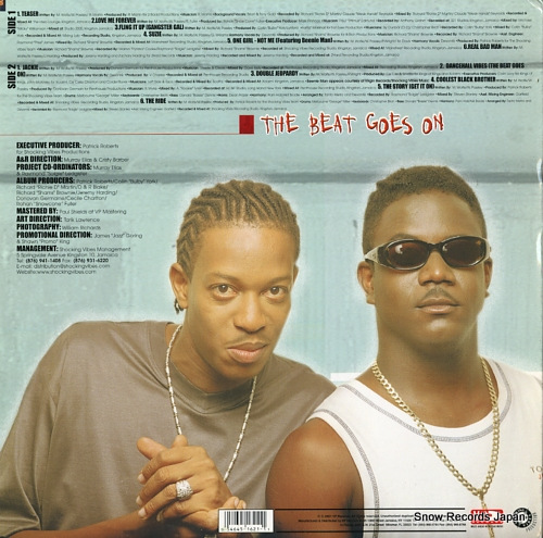 METRO, TANTO, AND DEVONTE the beat goes on VPRL1621 - back cover