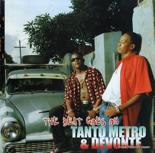 METRO, TANTO, AND DEVONTE the beat goes on VPRL1621 - front cover