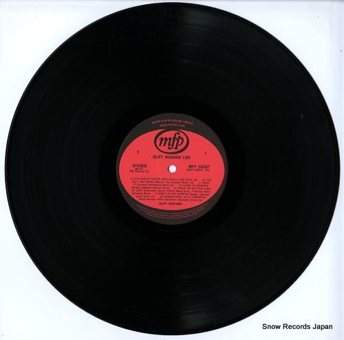 RICHARD, CLIFF live! MFP50307 - disc