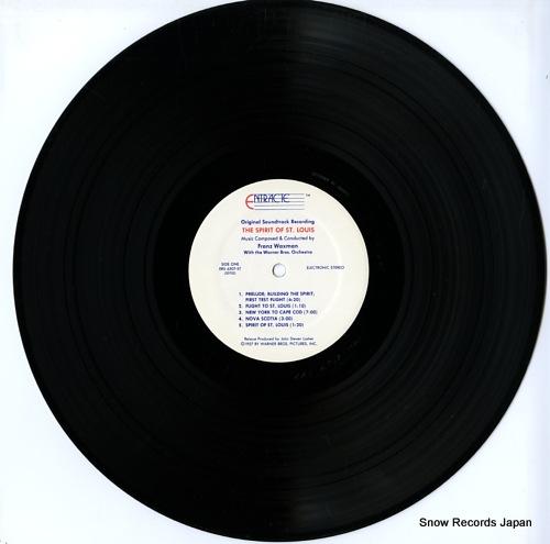 WAXMAN, FRANZ the spirit of st.louis ERS6507-ST - disc