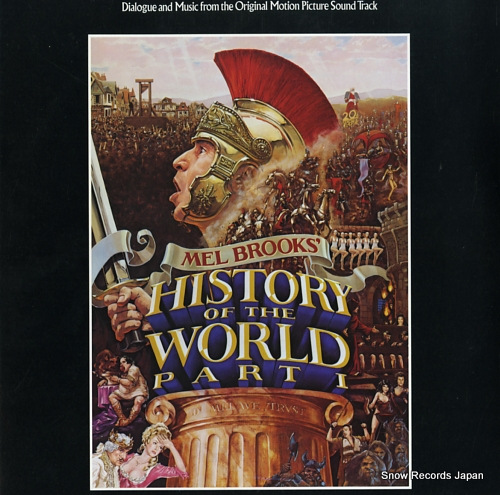 BROOKS, MEL mel brooks' history of the world part 1 BSK3579 - front cover