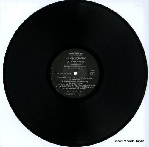 ROZSA, MIKLOS / ELMER BERNSTEIN the thief of bagdad FMC-8 - disc