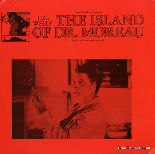 ROSENTHAL, LAURENCE the island of dr.moreau HG-4000 - front cover