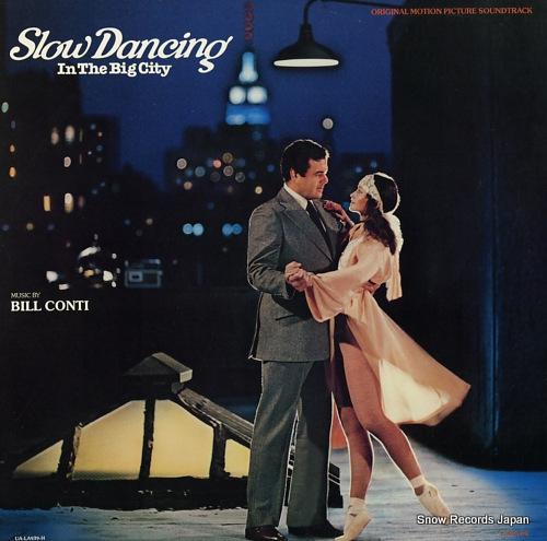 CONTI, BILL slow dancing in the big city UA-LA939-H - front cover