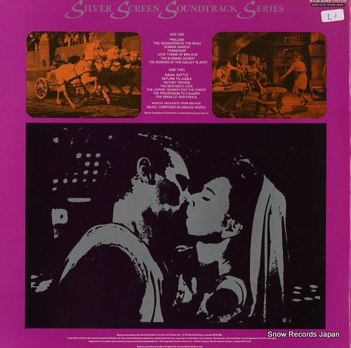 ROZSA, MIKLOS ben-hur volume 1 2353030 - back cover