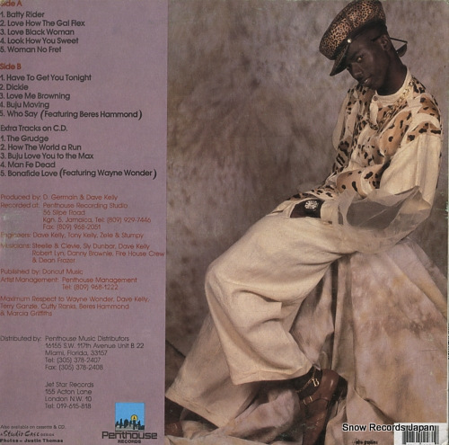 BANTON, BUJU mr. mention PHLP-1997/RHP1997 - back cover