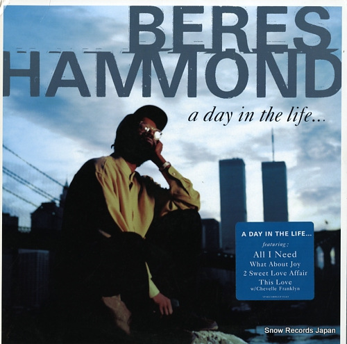 HAMMOND, BERES a day in the life VPRL1534 - front cover
