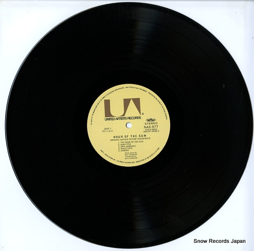 GOLDSMITH, JERRY hour of the gun NAS977 - disc