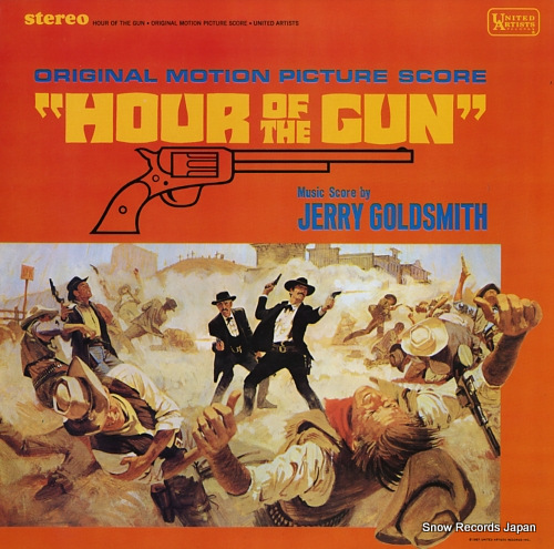 GOLDSMITH, JERRY hour of the gun NAS977 - front cover