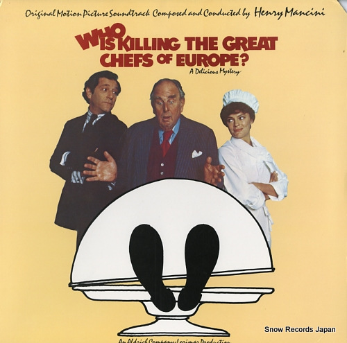 MANCINI, HENRY who is killing the great chefs of europe ? SE35692 - front cover