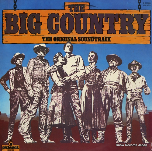 MOROSS, JEROME the big country SHM968 - front cover