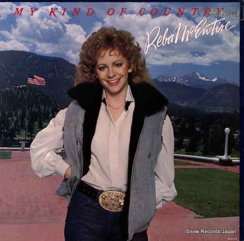 MCENTIRE, REBA my kind of country MCA-25048 - front cover