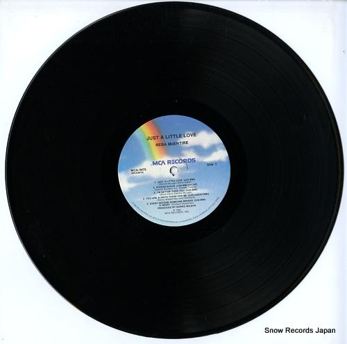MCENTIRE, REBA just a little love MCA-957 - disc