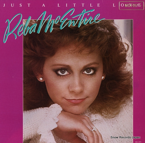 MCENTIRE, REBA just a little love MCA-957 - front cover