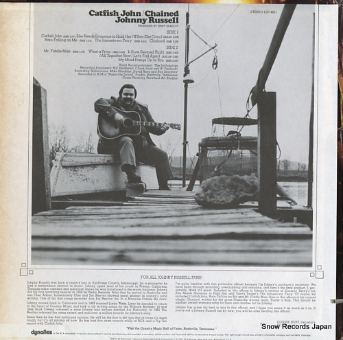 RUSSELL, JOHNNY catfish john / chained LSP-4851 - back cover