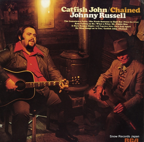 RUSSELL, JOHNNY catfish john / chained LSP-4851 - front cover