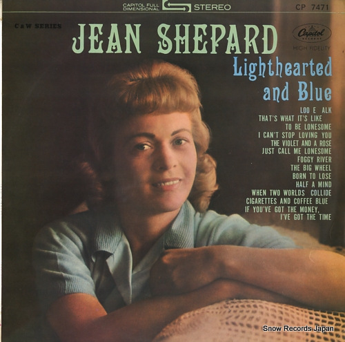 SHEPARD, JEAN lighthearted and blue CP-7471 - front cover