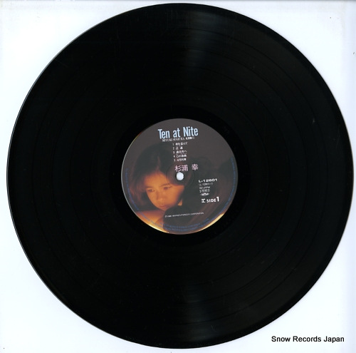 SUGIURA, MIYUKI ten at nite L-12601 - disc