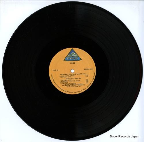 NEUMANN, VACLAV grieg; peer gynt suites no.1 & 2 / lyric suites EVEREST3401 - disc