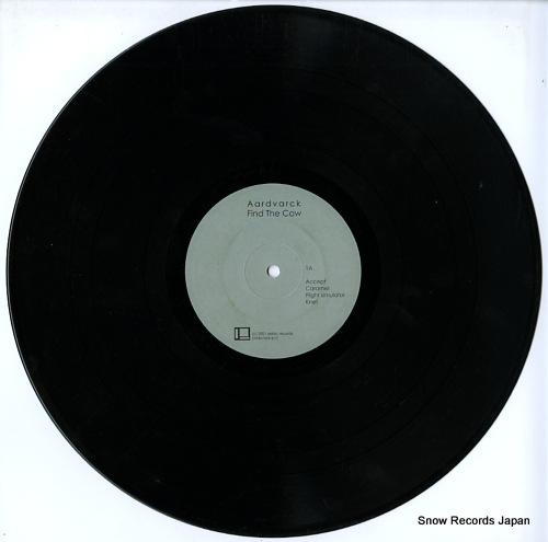 AARDVARCK find the cow 25DSR/AAR-LP-1 - disc