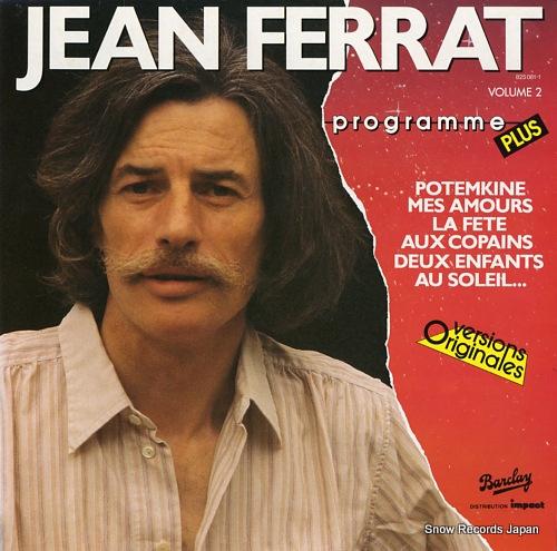 FERRAT, JEAN programme plus volume2 825081-1 - front cover