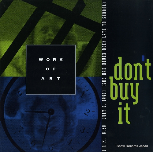 WORK OF ART don't buy it FM-91962 - front cover