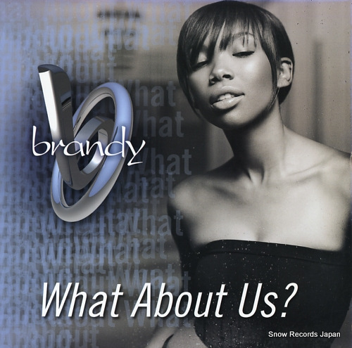 BRANDY what about us ? 85217-0 - front cover