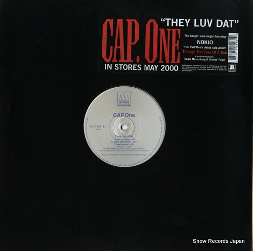 CAP.ONE they luv dat 012156818-1 - front cover