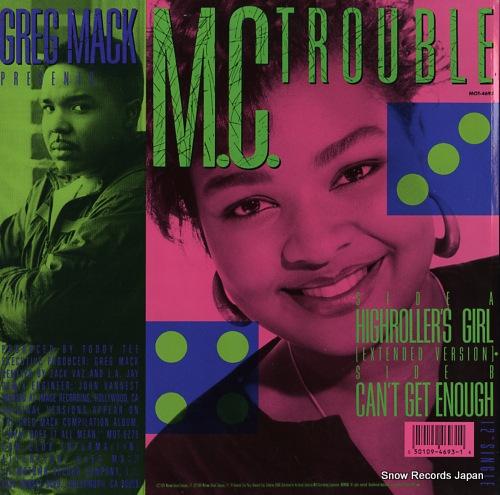 M.C. TROUBLE highroller's girl MOT-4693 - back cover