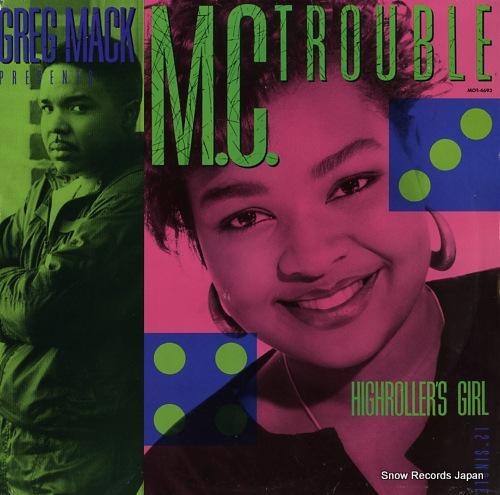 M.C. TROUBLE highroller's girl MOT-4693 - front cover